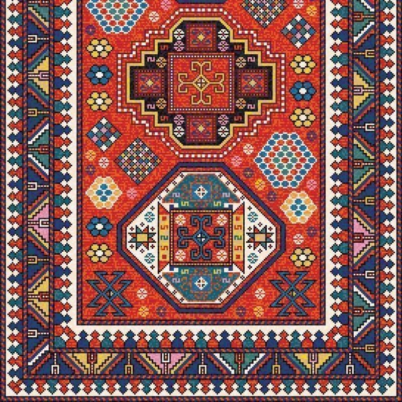 James Burnside Persian Kazak Rug