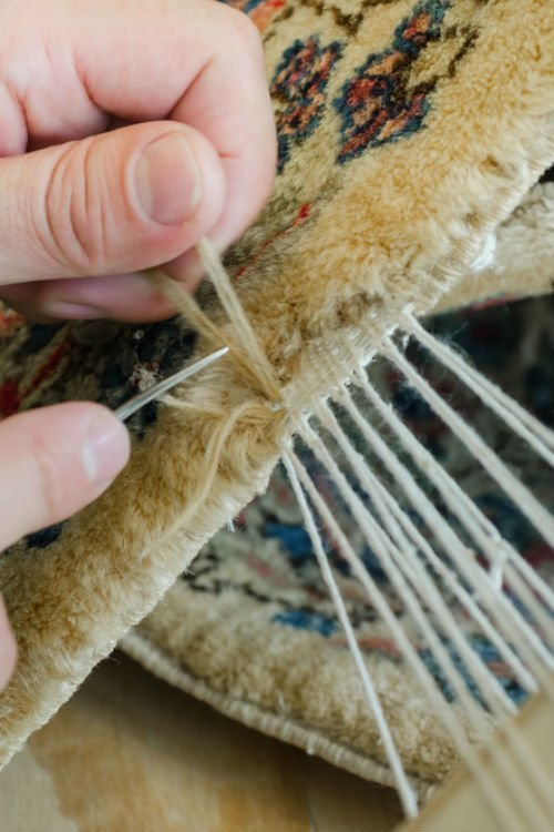 James Burnside Persian Rug Repair