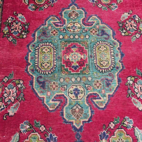 Vintage Persian Tabriz Handmade Rug